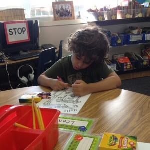 sensory-friendly classroom